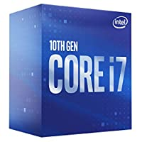 معالج سطح المكتب انتل كور i7-10700 8 كور حتى 2.9 جيجاهيرتز LGA 1200 (انتل 400) 65 وات، BX8070110700