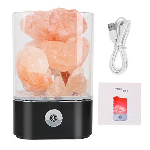 Usb-sti (Tischlampe Salz Lampe Bunte Lava Licht Hause Luftreiniger Sti Mmung Schöpfer Natürliche Himalaya Warme Tischlampe Usb Powered Kristall Licht)