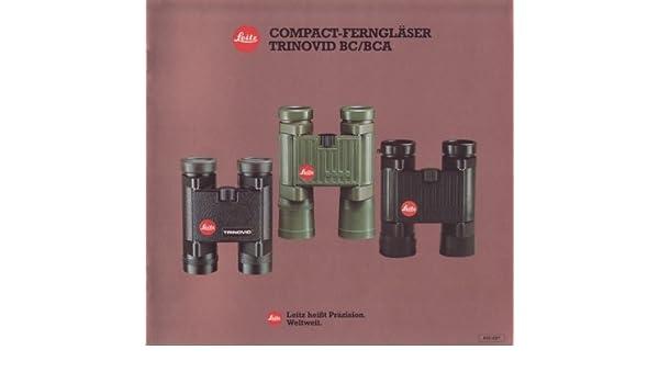 Leitz compact ferngläser trinovid bc bca amazon ernst leitz