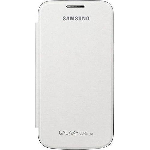Samsung EF-FG350NW Etui à rabat pour Samsung Galaxy Core Plus Blanc (66 x 126 x 10 mm)