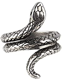 Beauty7-Modetrend Punk Schlange Ring Party Ring Gothik Ring-Gothic snake finger ring