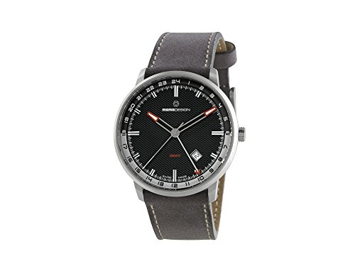 Momo Design Essenziale GMT Quartz Uhr, Ronda 515, PVD, 42,5 mm, MD6005SS-12