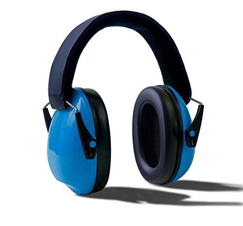 Nykkola baby paraorecchie con riduzione del rumore cancellazione del rumore cuffie per neonato autismo bambini bambini outdoor sicurezza protezione per le orecchie, blu