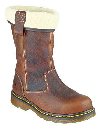 Dr Martens Rosa Steel Toe Rigger Boot Teak Size UK 7 EU 41 Martens Steel Toe Boot