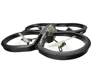 Parrot AR.DRONE 2.0 Quadricottero, Elite Edition, Giungla