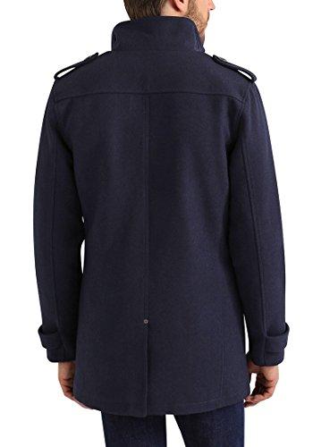 Blend Warren Herren Winter Mantel Wollmantel Lange Winterjacke mit Stehkragen, Größe:S, Farbe:Navy (70230) - 5