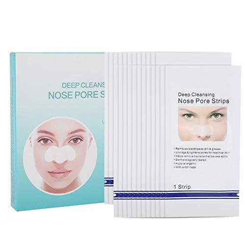 Nasenporenstreifen zur Entfernung von Mitessern, 24 STÜCKE Tiefenreinigende Nase Befreien Sie sich von Mitessern Peel-off Nasenmaske -