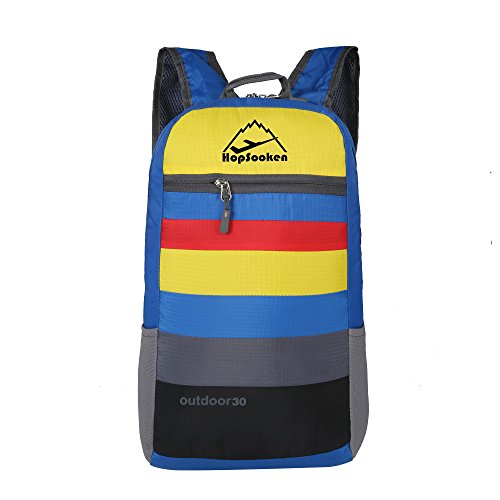 Hopsooken zaino casual viaggio sport trekking alpinismo zaino unisex zainetto