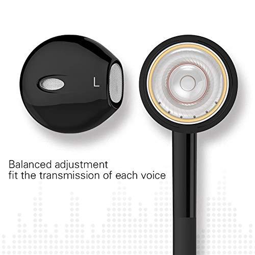 SHAIMU Earphone EPA-103 Headphone Headset for Apple iPhone 5s, 5, 6, 6s Plus SE & iPad Devices (Type4, Black) Image 3