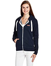 Superdry Orange Label Primary Ziphood, Sweat-Shirt Femme
