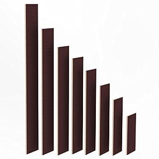 100mm Holz Bretter 27mm Siebdruck Brett-Zuschnitte beschichtet Längen 1m - 2m Birke Multiplex Sperrholz Brett Länge: 1015 mm