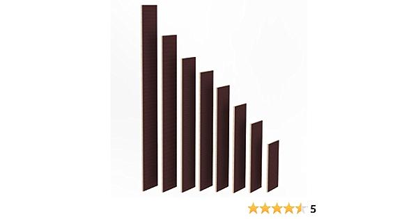 100mm Holz Bretter 18mm Siebdruck Brett-Zuschnitte beschichtet L/ängen 1m 2m Birke Multiplex Sperrholz Brett L/änge 2000 mm