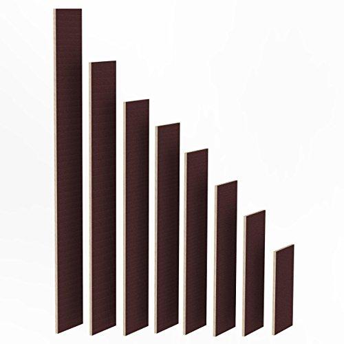 Holzlatten-rahmen (100mm Holz Bretter 27mm Siebdruck Brett-Zuschnitte beschichtet Längen 1m - 2m Birke Multiplex Sperrholz Brett Länge: 1025 mm)