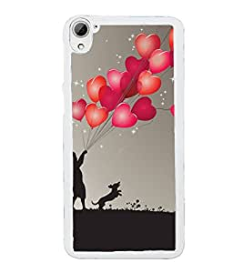 ifasho Designer Back Case Cover for HTC Desire 826 :: HTC Desire 826 Dual Sim (Love A Lovestory Love Gifts For Boyfriend Birthday Love Locket For Girlfriend)