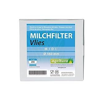 Agritura Milchfilter Vliess 200