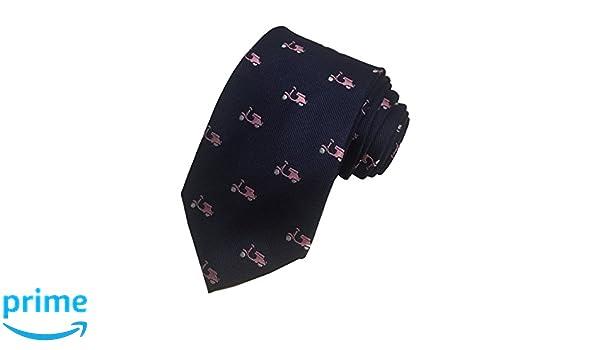 Simon Carter London pour homme 100% soie Col Cravate Bleu marine Rose    Mobylette  Amazon.fr  Vêtements et accessoires 94fd21b1cc2c