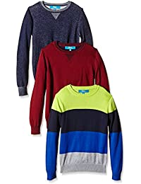 Primark - Pack de 3 jerséis, talla 7-8 años, 128 cm