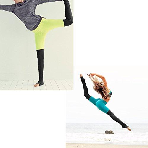 Zhhlaixing Womens Running Yoga Pants Elasticity Fitness Leggings mouvement Trousers YBA Pink&Black