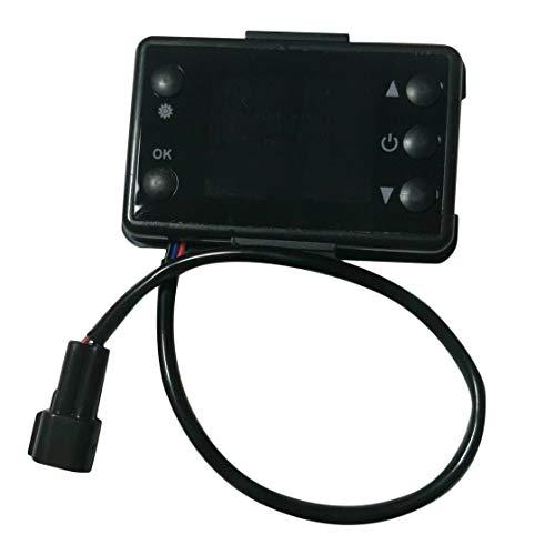 Preisvergleich Produktbild 12 V / 24 V 3 / 5KW LCD Monitor Parkplatz Heizung Schalter Auto Heizung Gerät Controller Universal für Auto Track Lufterhitzer