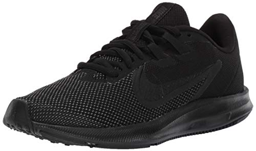 Nike Damen WMNS Downshifter 9 Laufschuhe, Schwarz (Black/Black-Anthracite 005), 39 EU