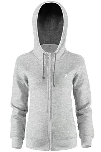 outhorn haute qualité à capuche Pull Chemisier pour femme sweat Sweat-shirt à capuche à capuche pull freizet Veste d'extérieur à manches longues pull Sport bld601SS17(Gris clair) gris clair