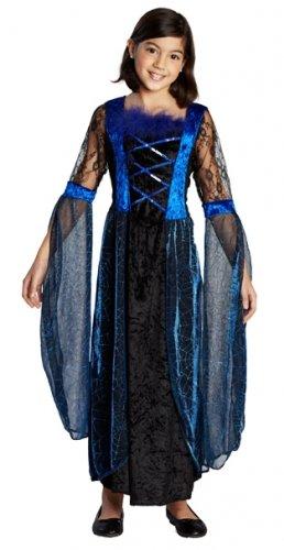 (Rubie's Halloween Kinder Kostüm Mitternacht Prinzessin Vampirin Hexe Gr.164)