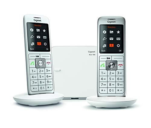 Gigaset Schnurloses Telefon DECT/Gap Weiß