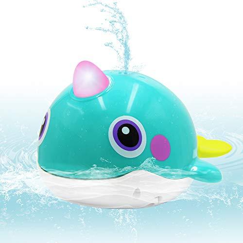 VATOS Baby Badespielzeug Wal Badezeit Squirt-Spielzeug Badespielzeug Sprinkler Schwimmwanne schwimmende Wasserspray Badewanne Spielzeug wasserdichte badewanne Pool Toys für Babys