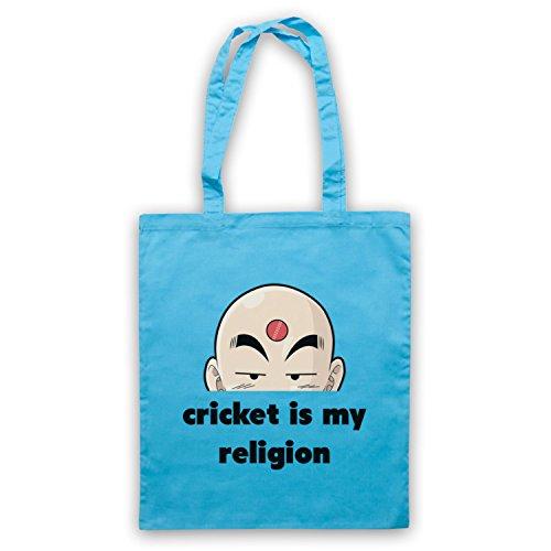 Cricket Is My Religion Cricket Slogan Umhangetaschen Hellblau