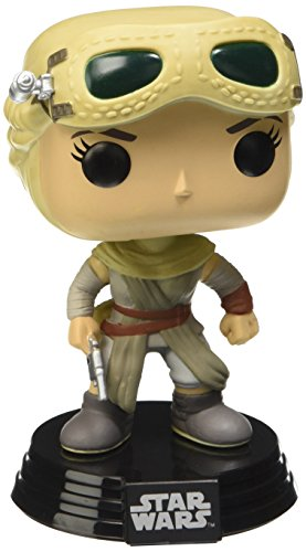 Funko FK6229 - Pop! Star Wars Episode VII The Force Awakens - Rey mit Goggles Vinyl Figur 10 cm Exclusive limited