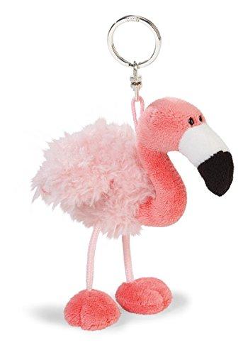 Nici 41655.0 Sommer Schlüsselanhänger Flamingo, 10 cm -