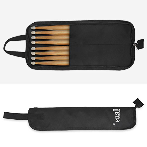 Dilwe Drum Stick Bag, Oxford Tuch Water Resistant Perkussion Drum Stick Mallet Aufbewahrungstasche