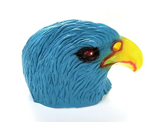 t Bird Head Latex Maske Panto Kostüm Halloween Einheitsgröße (Papagei Halloween-kostüme)