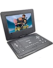 "ABB INDIA Solutions & Services 13.9"" LCD 3D Portable EVD DVD Player with Dolby Stereo Sound (Black)"