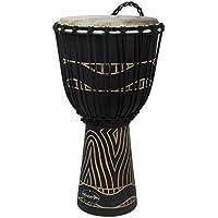 """World Rhythm MDJ032 - Djembé color negro (12"""")"""