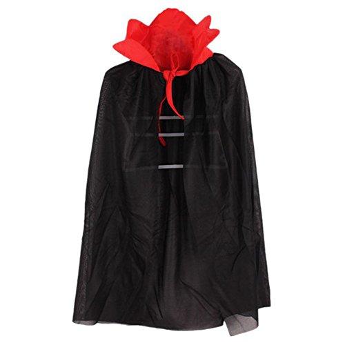 Bornbay Halloween Cape Hexe Kind Umhang Kostüm für Kinder Kinder Unisex Mädchen 70cm / 27.56