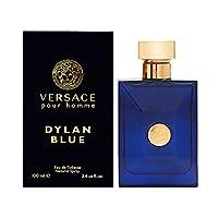 Versace Pour Homme Dylan Blue by Versace for Men -  Eau de Toilette, 100ml