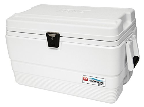 IGLOO Marine Ultra Cooler, 44683, Bianco, 54-Quart