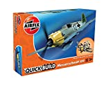 Airfix Quick Build Messerschmitt Bf109e Kit Modelo plástico de avión