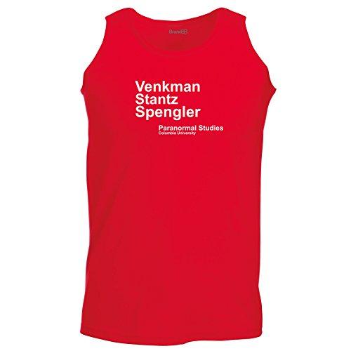 Brand88 - Venkman Stantz Spengler, Ghostbusters inspired, Unisex Athletic Weste Rot