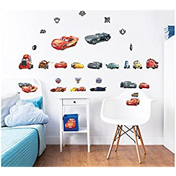 Disney Cars 3 Wall Stickers, Multi Colour Part 44