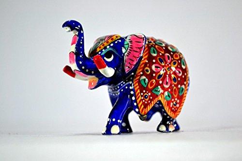 Elefante estatuilla , India magnífico elefante de la decoración de regalos - Lucky Estatuas de animales