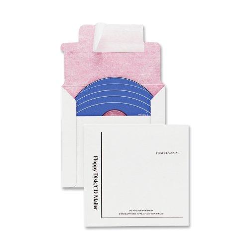Mailer Gepolsterte Cd (Qualität Park e7261Qualität Park recyceltem Multimedia/CD-Versandtaschen, tyvek-lined, 5x 5, 25/Box)