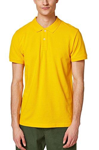 ESPRIT Herren Poloshirt 028EE2K012, Gelb (Sunflower Yellow 730), Large
