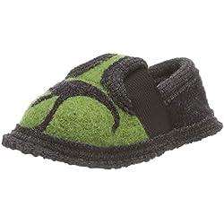 Beck Dino, Zapatillas de Estar por casa para Niños, Verde (Grün 22), 25 EU