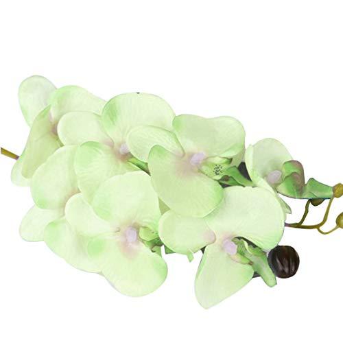 Kostüm Stamm - Busirde Silk künstliche Phalaenopsis-Orchideen-Blumen-Stamm-Blumenstrauß-Partei-Hausgarten-Dekor