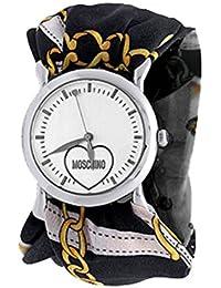 Moschino Watches Ladies Silk Strap Watch MW0199