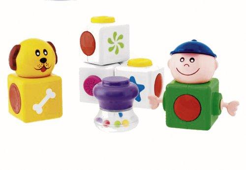 Chicco Jouet premier âge Jeu de construction La Petite Famille Magique Blocks