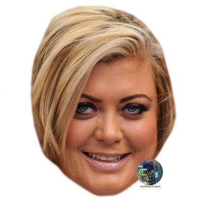 Celebrity Cutouts Gemma Collins Maske aus Karton