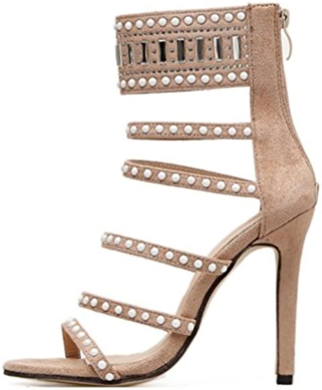 70a783650ecaca les liangxie mesdames boîte boîte boîte sexy talons hauts talons de  chaussures les perles de roFemme escarpins sandales summer...b07g2t6w5g  parent | En ...